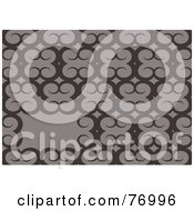 Royalty Free RF Clipart Illustration Of A Text Box In A Gray Ram Horn Background