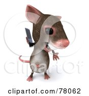3d Mouse Character Using A Modern Cell Phone Version 2 by Julos