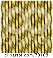 Royalty Free RF Clipart Illustration Of A Background Of Weaved Woven Strands Seamless by Arena Creative