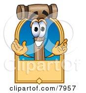 Mallet Mascot Cartoon Character