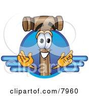Mallet Mascot Cartoon Character Logo