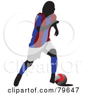 Faceless Male Soccer Player Version 4 by leonid