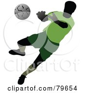 Faceless Male Soccer Player Version 5 by leonid