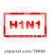 Hining Red H1N1 Sign