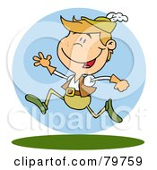 Royalty Free RF Clipart Illustration Of A Leaping Lord by Hit Toon