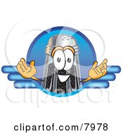 Clipart Picture Of A Pepper Shaker Mascot Cartoon Character Logo by Toons4Biz