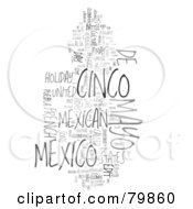 Royalty Free RF Stock Illustration Of A Collage Of Words Cinco De Mayo Version 1