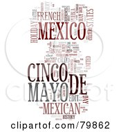 Royalty Free RF Stock Illustration Of A Collage Of Words Cinco De Mayo Version 3