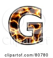 Electric Symbol Capitol Letter G