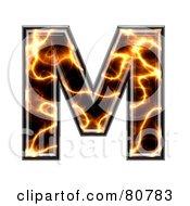 Electric Symbol Capitol Letter M