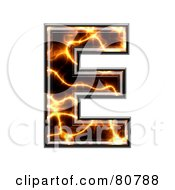 Electric Symbol Capitol Letter E by chrisroll