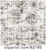 Royalty Free RF Clipart Illustration Of A Seamless Brick Wall Background by Arena Creative