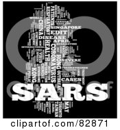 Collage Of Words SARS Version 5