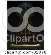 Royalty Free Stock Illustration Of The Magnifying Transmitter The Wardenclyffe Tower