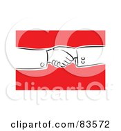 Royalty Free RF Clipart Illustration Of Hands Shaking by Prawny