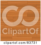 Royalty Free RF Clipart Illustration Of A Background Of Wooden Flooring