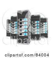 Tall 3d Server Racks