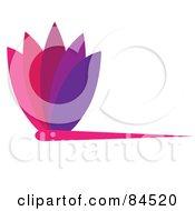 Colorful Floral Logo Design Element