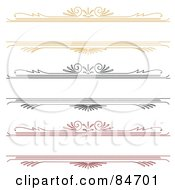 Royalty Free RF Clipart Illustration Of A Digital Collage Of Yellow Black And Red Border Text Boxes On White