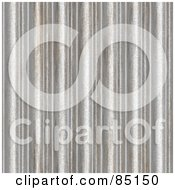 Royalty Free RF Clipart Illustration Of A Seamless Corrugated Steel Textured Background