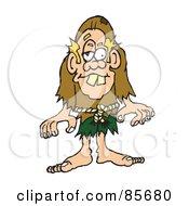 Blond Hunchback Man