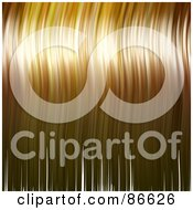 Royalty Free RF Clipart Illustration Of A Background Of Wavy Blond Hair
