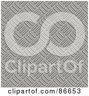 Royalty Free RF Clipart Illustration Of A Seamless Diamond Plate Textured Background Version 1