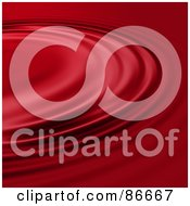 Royalty Free RF Clipart Illustration Of A Background Of Rippling Red Liquid