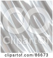 Royalty Free RF Clipart Illustration Of A Metal Ripple Background by Arena Creative