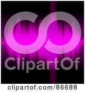 Royalty Free RF Clipart Illustration Of A Background Of Purple Sound Waves Over Black