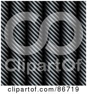 Royalty Free RF Clipart Illustration Of A Background Of Steel Cable Wires