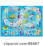 Blue Pirate Board Game