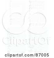 Royalty Free RF Clipart Illustration Of A Digital Collage Of Sketches On Ruled Paper by Alex Bannykh