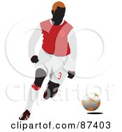 Soccer Player In Action Version 9 by leonid