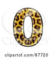 Panther Symbol Number 0
