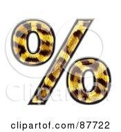 Panther Symbol Percent