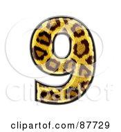 Panther Symbol Number 9