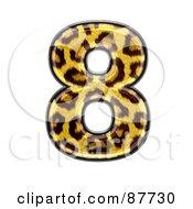 Panther Symbol Number 8