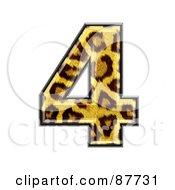 Panther Symbol Number 4