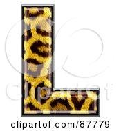 Panther Symbol Capital Letter L