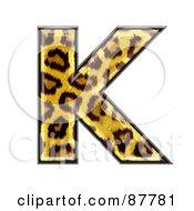 Panther Symbol Capital Letter K