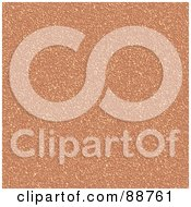Royalty Free RF Clipart Illustration Of A Cork Board Texture Background by Arena Creative