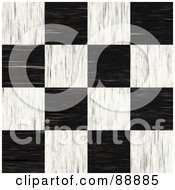 Royalty Free RF Clipart Illustration Of A Tiled Checkered Floor by Arena Creative