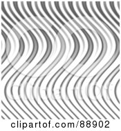 Royalty Free RF Clipart Illustration Of A Wavy Silver Flame Background