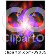 Royalty Free RF Clipart Illustration Of An Abstract Fractal Background 1