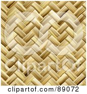 Royalty Free RF Clipart Illustration Of A Tightly Weaved Basket Texture