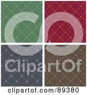 Royalty Free RF Clipart Illustration Of A Digital Collage Of Sewn Pattern Backgrounds Version 2 by Frisko