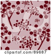 Royalty Free RF Clipart Illustration Of A Seamless Twig Pattern Background by BestVector
