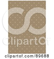 Royalty Free RF Clipart Illustration Of A Seamless Octagon Pattern Background