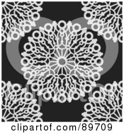 Royalty Free RF Clipart Illustration Of A Seamless Circle Pattern Background Version 5